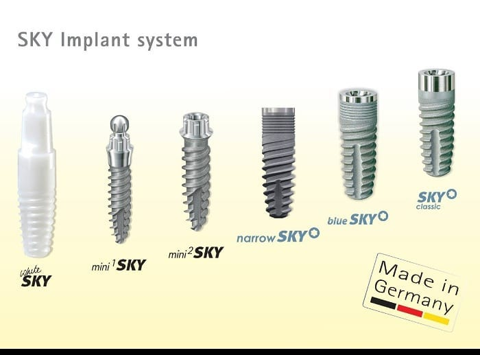 Имплантаты Bredent
