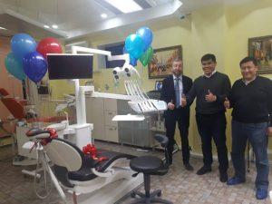 Поздравляем клинику Dental Center с приобретением стоматологической установки Sirona Intego