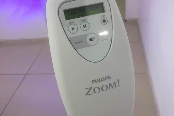 первую лампу для отбеливания Philips Zoom